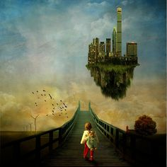 A city for Elisa by jaci XIII, via Flickr