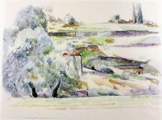 Paul Cézanne Aquarelle – Marées Gesellschaft