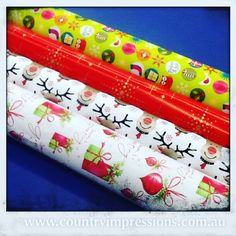 Christmas paper is out and ready.  Gift wrapping is always FREE with any purchase #countryimpressions #liebigstreet #babyimpressions #3280#love3280 #warrnambool  #shop3280 #christmas by countryimpressions