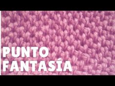 Punto Cruzado para prendas de chicos y chicas en dos agujas - YouTube Knitting Videos, Knitting Charts, Crochet Videos, Baby Knitting Patterns, Crochet Patterns, Crochet Stitches, Knit Crochet, Stitch 2, Youtube