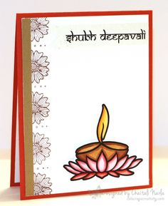 Diy Diwali Cards, Handmade Diwali Greeting Cards, Diy Diwali Decorations, Diwali Diy, Diwali Craft, Handmade Birthday Cards, Diwali 2013, Happy Diwali, Festive Crafts