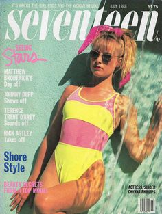 magazine 1988 1988 - See A 'Seventeen' Magazine Cover From The Year You Turned 17 - Photos Aesthetic Collage, Aesthetic Vintage, Aesthetic Photo, Aesthetic Pictures, 80s Aesthetic, Seventeen Magazine, Elle Magazine, Magazine Ads, Old Magazines