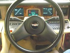 The most incredible car dashboard from the past