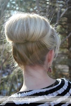 Twist Me Pretty: Topsy Tail Revisited- high bun