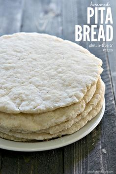 Gluten-Free Vegan Pita Bread - Fork and Beans