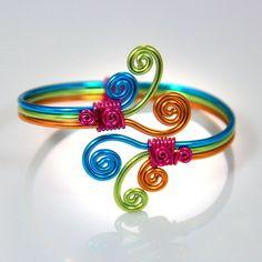 Spirale éclater Bracelet réglable