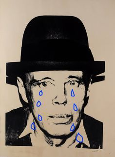 Glaube. Liebe. Hoffmann. ✝♥✂: beuys, don`t cry.