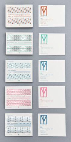 Diseño de la identidad visual de TextielMuseum y TextielLab, por Raw Color | Experimenta