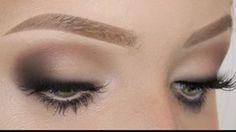 eye makeup tutorial for hooded eyes - YouTube