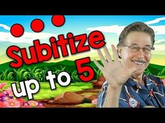 Subitize Up to 5 (soo-bi-tize) | Math Song For Kids | Jack Hartmann - YouTube