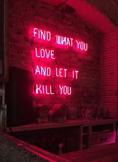 Neon sign aesthetic light red wall and best signs quotes ideas on with lights open Neon Quotes, Neon Words, Neon Aesthetic, Love Quotes For Her, Neon Lighting, Decir No, Life Quotes, Inspirational Quotes, Let It Be