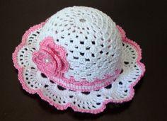 Crochet Baby Poncho, Crochet Summer Hats, Crochet Baby Bonnet, Crochet Shrug Pattern, Crochet Baby Shoes, Crochet Flower Patterns, Crochet Designs, Crochet Hats, Baby Hat Patterns