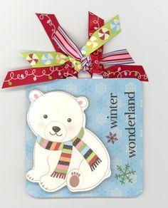 Crafty Polly tag. Imaginisce Winter Wonderland Tag - Scrapbook.com