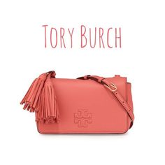 "Tory Burch Thea mini cross body bag spiced coral Brand new! 100% authentic, will provide receipt upon request. NO TRADE! 8.2""x 3.2"" x 5.0"" Tory Burch Bags Crossbody Bags"