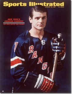A look back at the amazing career of Ranger great Rod Gilbert. Rink Hockey, Ice Hockey Players, Nhl Players, Rangers Top, Rangers Hockey, Si Cover, Hockey Pictures, Sports Illustrated Covers, Sports Magazine