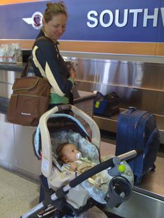 Flying with Baby: Two to Eight Months Old | All Moms Are Perfect