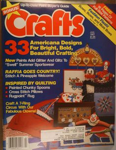 https://flic.kr/p/w28PU8 | Crafts July 1987 | $6.00 each plus Shipping.