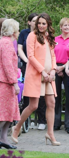 Kate Middleton Coat and Shoes