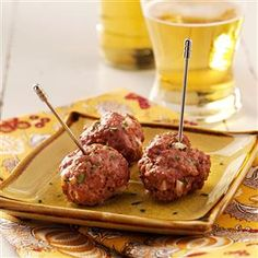 Make-Ahead Meatballs Make-Ahead Meatballs Rezept von Tas . - New Ideas Make-Ahead Meatballs Make-Ahead Meatballs Recipe from Tas. Make-Ahead Fleischbällchen Make-Ahead Fleischbällchen Rezept von Taste of Home Grape Jelly Meatballs, Freezer Cooking, Freezer Meals, Meatball Recipes, Crockpot Recipes, Healthy Recipes, Half And Half Recipes, Tailgating Recipes, Koken