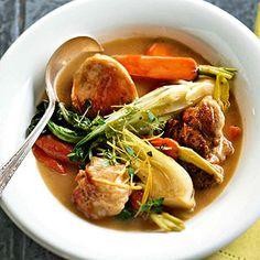 Spring Chicken Stew