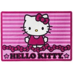 "Hello Kitty Large Floor Area Rug 39"" x 56"""