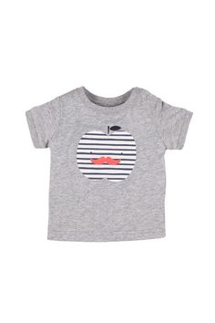 michael ss tee LIGHT GREY MARLE/STRIPEY APPLE, look at Cottonon in SA