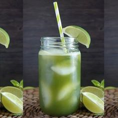 Cucumber Mint Lime Agua Fresca