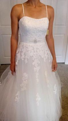 Robe mari e courte dentelle alternative haul pinterest for Robes blanches simples pour le mariage de palais de justice