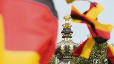 Tag der Deutschen Einheit in Dresden Festungsbau für das Bürgerfest - Tagesspiegel