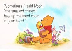 I love Pooh!  He's so sweet and kind to everyone.