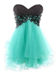 Miętowa sukienka -moje największe marzenie ! :3