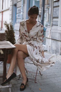 Official online shop for Andra Andreescu designs. Discover the collections: dresses, skirts, tops, pants and outwear. Wrap Dress, Style Inspiration, Silk, Summer Dresses, Skirts, Shopping, Collection, Tops, Design
