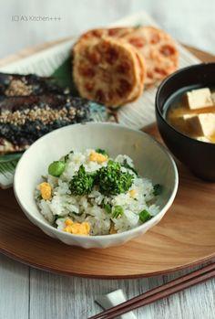 Japanese food / 菜の花ご飯