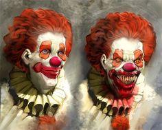 Клоун - картина неизвестного мастера Photoshopа Клоун (от англ. clown), в современном значении термина — цирковой, эстрадный или театральный артист, использующий приемы гротеска и буффонады. Родс...