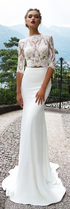 Wedding Dress by Milla Nova White Desire 2017 Bridal Collection Merill #weddingdresses