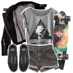 A fashion look from April 2014 featuring IRO, Levi& shorts y Vans sneakers. Browse and shop related looks. Hipster Outfits, Grunge Outfits, Trendy Outfits, Cool Outfits, Summer Outfits, Fashion Outfits, Womens Fashion, Cute Fashion, Fashion Looks