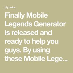 Finally Mobile Legends Generator is released and ready to help you guys. By using these Mobile Legends Tool you can now easily get as much Points and Ticket as you want. Ticket Generator, My Hero Academia Tsuyu, Legend Games, Play Hacks, New Mobile, Mobile Legends, Diamonds, Guys, Cheating