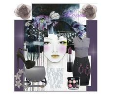 """Bloom"" by stephanie-mcclaran ❤ liked on Polyvore featuring Chanel, N'Damus, Christian Dior, MAC Cosmetics and Daum"