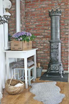Beautiful small stove! Love it. VIBEKE DESIGN