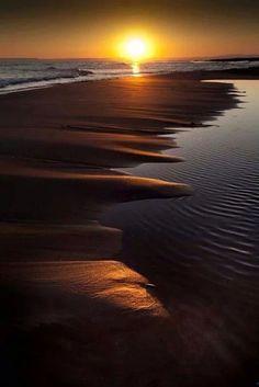 Golden Sunset | Gold Coast | Queensland | Australia.: