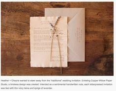 personal note invitation