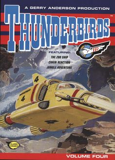 Buy Thunderbirds: Comic Volume Four at Mighty Ape NZ. A thrilling, futuristic volume of Thunderbirds comic strips. Features The Zoo Ship, Chain Reaction and Jungle Adventure. The fourth book in a. Classic Comics, Classic Tv, Thunderbirds Are Go, Unique Cars, Comic Strips, First Love, Nostalgia, Fiction, Novels