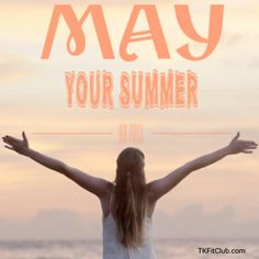 May Your SUMMER be full of sweaty workouts w/ clean food, quality time w/ amazing company and SUNSETS! Oh and.. laughter, fun and MOST of all, LOVE! #summer #blessing #fun #workouts #nutrition #summertime #June #happy #goodvibes #feelgood #healthy #eatclean #fitlife #lifestyle #smile #love #sun #sunsets #laugh #laughter #summerevenings #bbq #enjoy #balance #life #qualitytime #goodtimes ☀#TKFitClub Quality Time, Fun Workouts, Blessing, Sunsets, Good Times, Feel Good, Insight, Summertime, Laughter