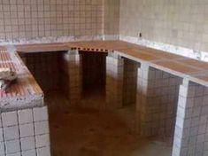 Resultado de imagem para como fazer mesa de concreto para cozinha #cocinasrusticascemento
