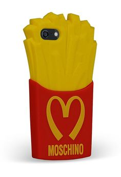 Moschino french fries phone case