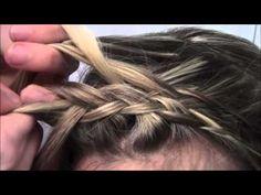 Tutorial #9- The 5 Strand Headband Braid        http://www.youtube.com/watch?v=Yxim_DOAAPQ