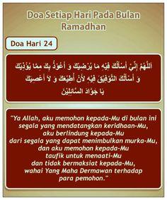 Doa hari 24 Ramadhan