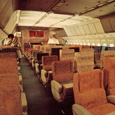 Airplane Interior, Aircraft Interiors, Flight Attendant, Car Manufacturers, Airplanes, Cabins, Vintage Airline, Airports, Genealogy