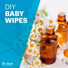 DIY Baby Wipes with Chamomile & Lavender Oils - Dr. Axe