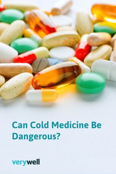How safe is cold medicine? Learn more here.
